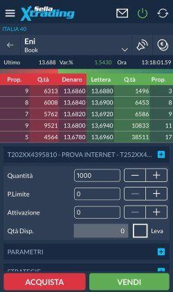 book app SELLA trading